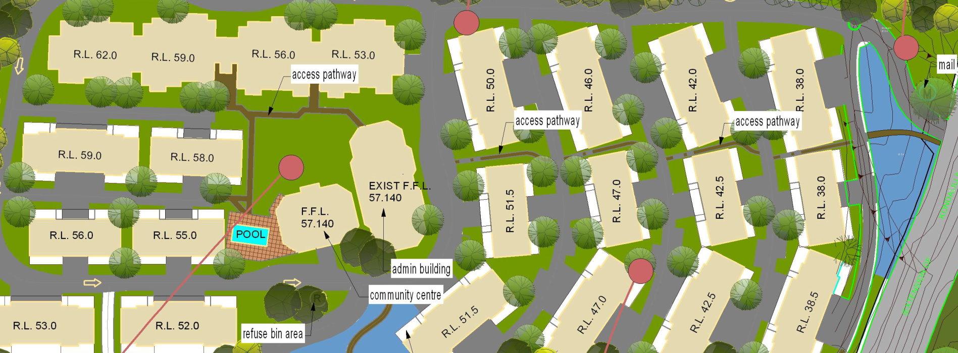 landscape layout plan