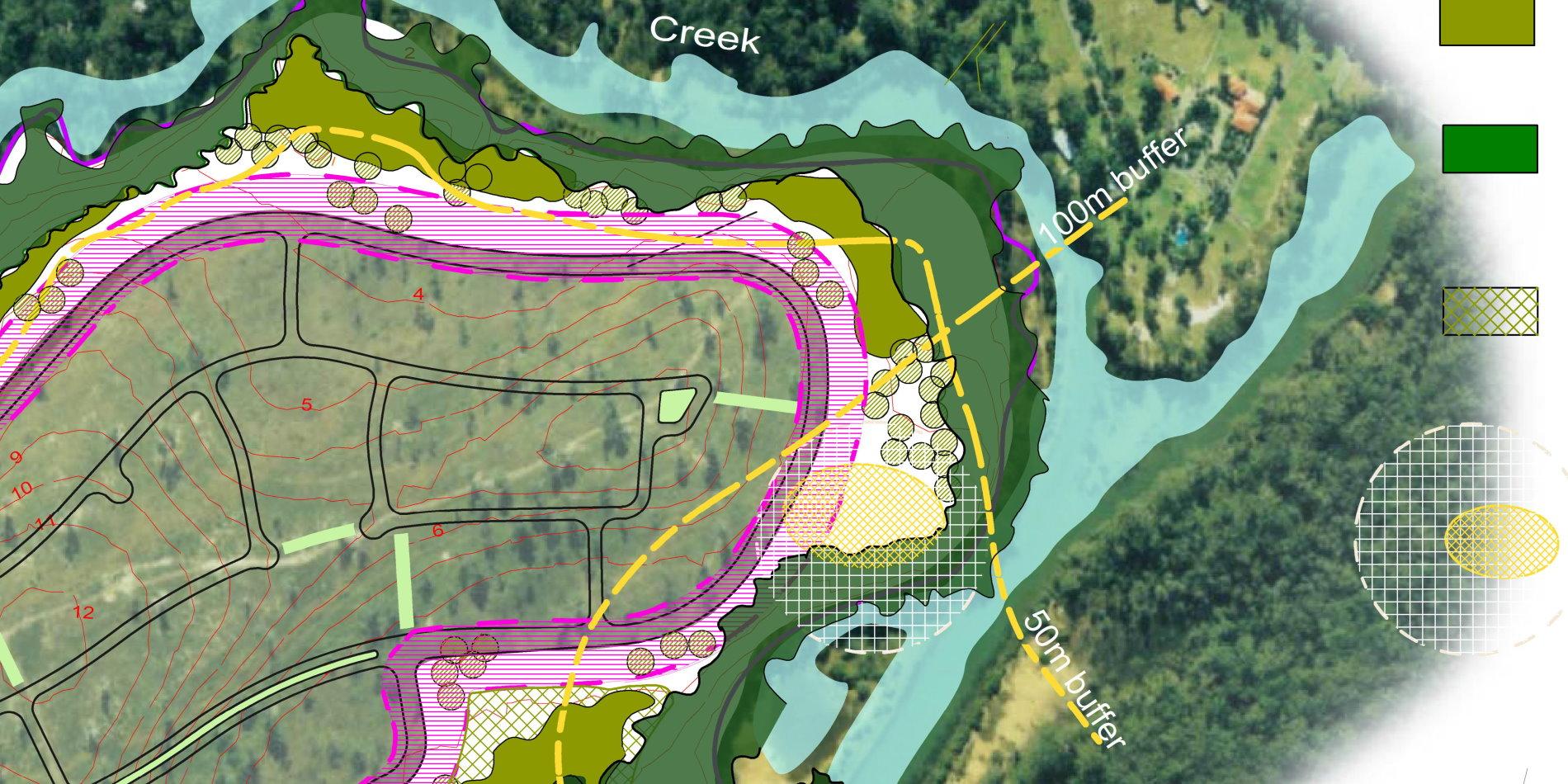 large landscape alotment plan