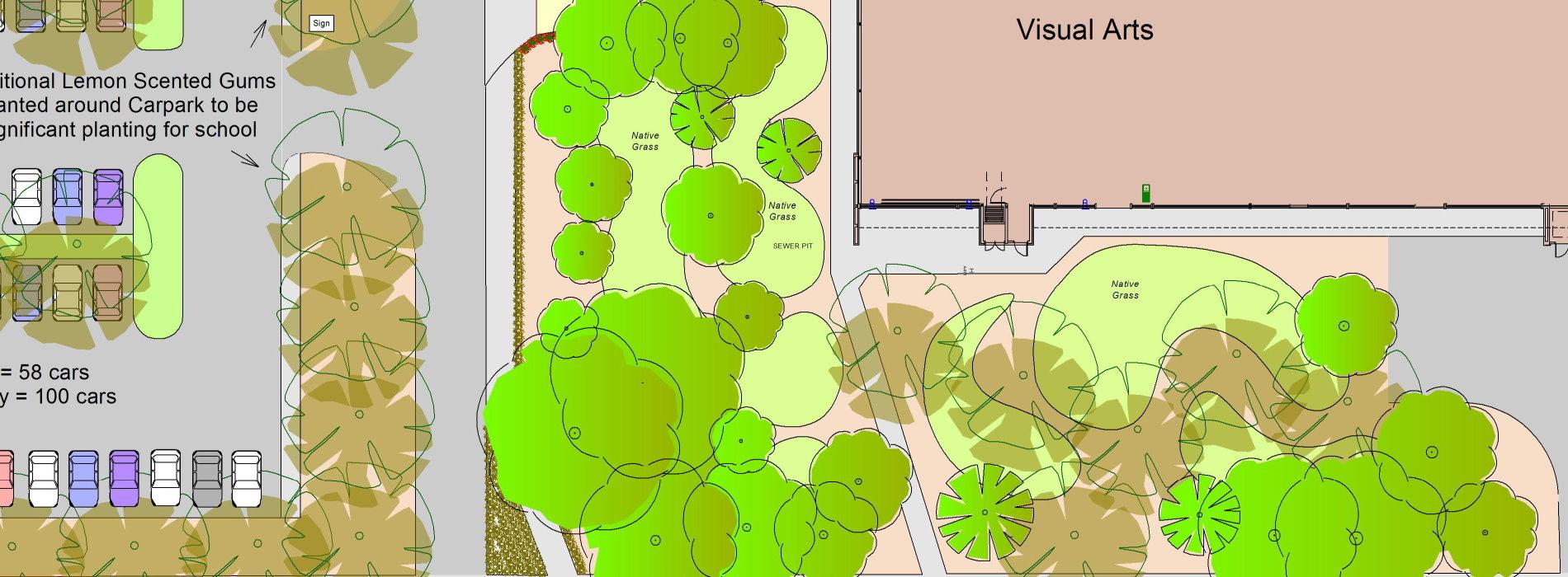 school landscape plan
