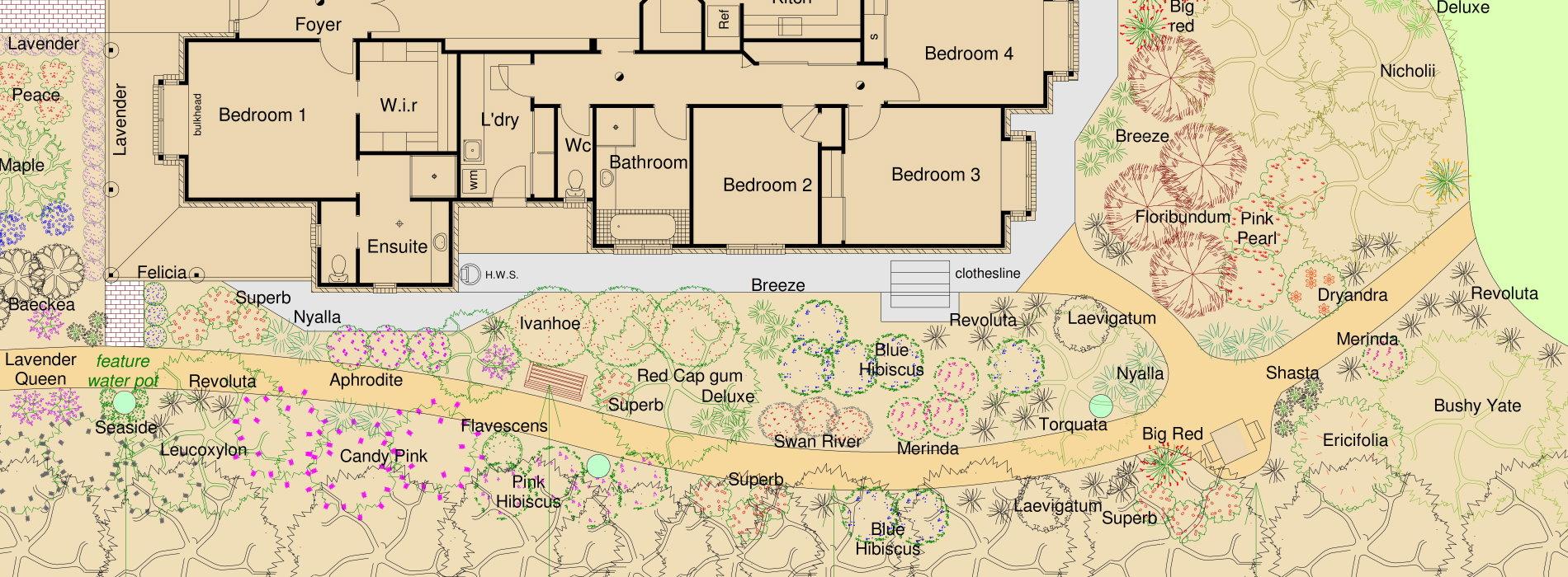 school landscape proposal
